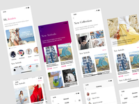 Jessica - Fashion App UI Template