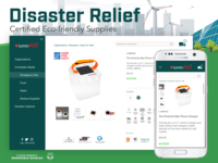 Disaster Relief Web and Mobile UI
