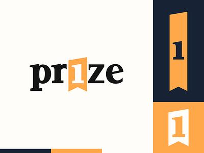 Peachtober day 8: Prize 1 wordmark ribbon prize peachtober illustrator design logo illustration vector