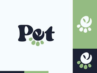 Peachtober day 10: Pet peachtober pet dog paw e illustrator flat  design design logo illustration vector