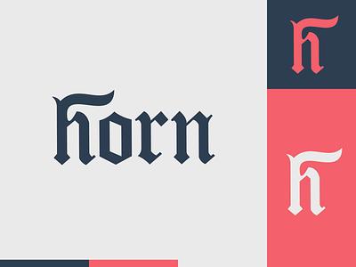 Peachtober day 13: Horn h devil horn flat illustrator flat  design design logo illustration vector