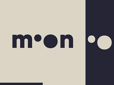 Peachtober day 31: Moon icon black and white moon peachtober branding typography illustrator design logo vector