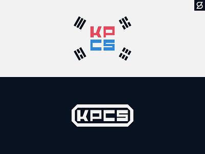 Korean Pop Culture Society typography flag korean korea southkorea branding design logo vector