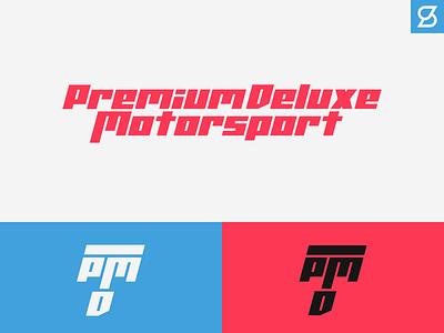 Premium Deluxe Motorsport Rebrand concept gta gtav design detailing garage typography rebrand car branding logo