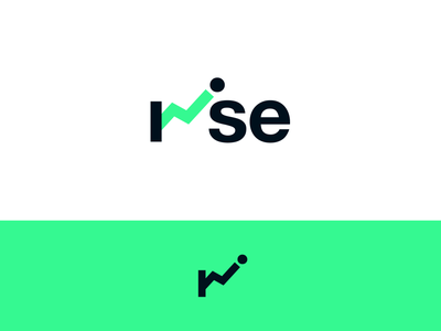 Peachtober day 5: Rise rise investing arrow trading stocks stock inktober peachtober branding design logo typography