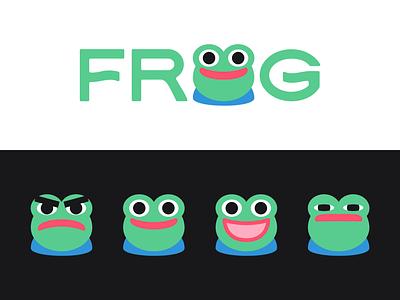 Peachtober day 10: Frog peepo toad emote twitch pepe peachtober inktober frog typography branding design logo