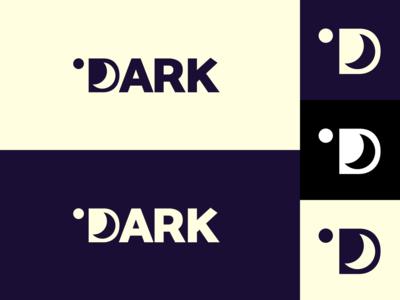 Inktober day 26: dark illustrator dark moon flat  design inktober inktober2019 design logo illustration vector