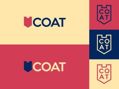 Inktober day 27: coat flat  design coat coat of arms illustrator design inktober inktober2019 logo illustration vector