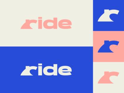 Inktober day 28: ride wave ride flat inktober inktober2019 design logo illustration vector