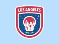 Circus Los Angeles Sticker 2