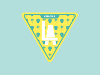 Circus Los Angeles Sticker 3