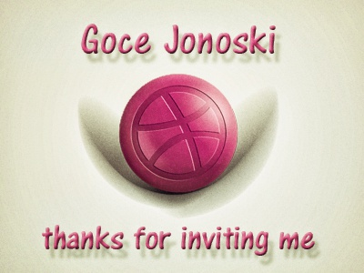 Thank you for dribbble