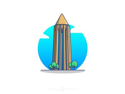 Avicenna Tomb گردشگری ایران ابن سینا architecture tourism iran illustration design vector flat illustrator illustration art graphic art illustration adobe design