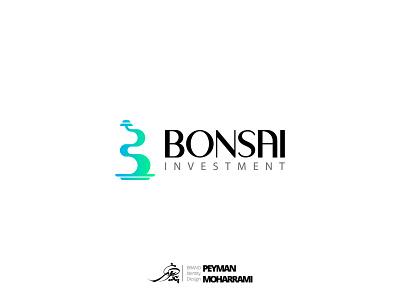 BONSAI Investment طراحی لوگو لوگوتایپ لوگو logodesign branding logo graphic illustration art adobe design