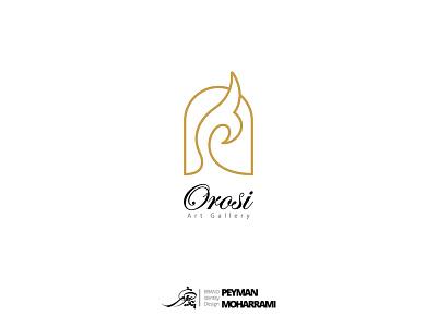 Orosi لوگو فارسی orosi لوگو دیزاین لوگو طراحی لوگو ui branding logo graphic art illustration adobe design