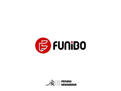 Funibo Logo Design لوگوتایپ logo طراحی لوگو لوگو branding illustrator illustration art graphic illustration art adobe design