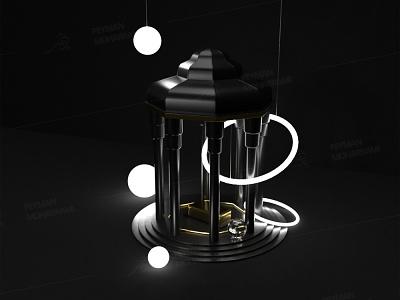 Hafezieh سه بعدی 3d 3d art iran ایران شیراز حافظیه حافظ dimension tower abstract illustrator illustration art graphic illustration art adobe design
