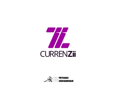 CurrenZii لوگوتایپ لوگو ارز ارز دیجیتال currency exchange currency digital currency branding icon abstract logo flat vector graphic art adobe design