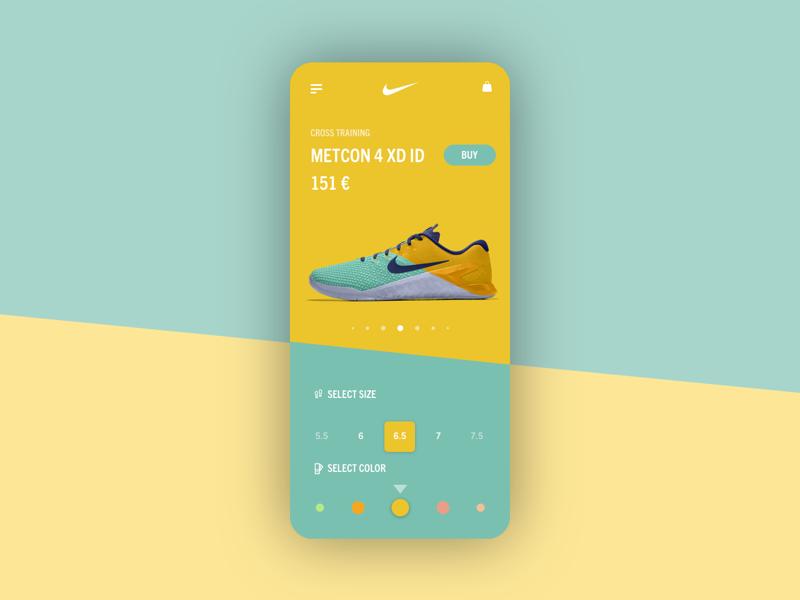 Nike mobile concept