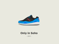 """Saucony X Footpatrol - """"Only in Soho"""""""