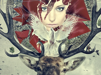 MotherEarth compositing postproduction digital art 3d