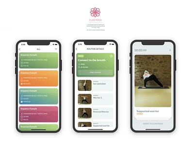 Yuva Yoga app ios mobile ui app yoga yuva yoga