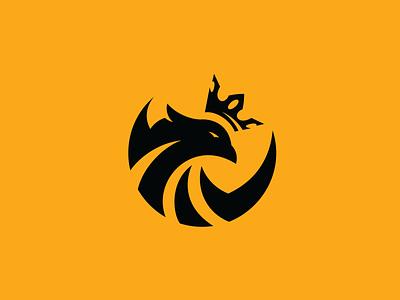 Circle Eagle Logo Design eagles bird bird logo black logo yellow logo circle logo eagle logo design goldenratio circle eagle logo eagle vector branding logo esport furious logo cashdesign