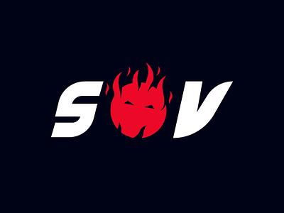 Shadows Of Valor Logo Design cash design logo cashdesign furious logo icon valor valorant logo wordmark fireball fire logo wordmark logo
