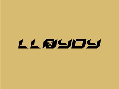 Lion Logo Design - Lloydy Logo Design wild logo design animal logo gold logo design gold design cash design cashdesign lion logo design lion logo lion wordmark logo wordmark