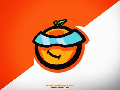 Orange mascot logo