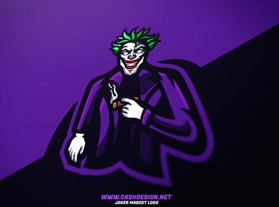 Joker mascot logo