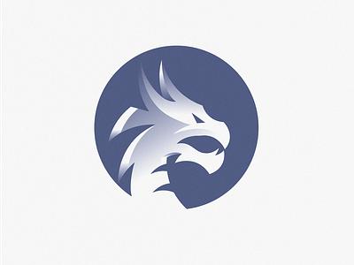 Dragon Logo Design branding logo blue cashdesign dragon logo design dragons japanese dragon icon circle asian chinese dragon logo dark dragon
