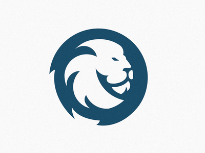 Lion Logo Design esport logo design esport blue furious logo animal logo cashdesign wild logo blue lion logo blue logo wild circle lion circle logo lion logo design