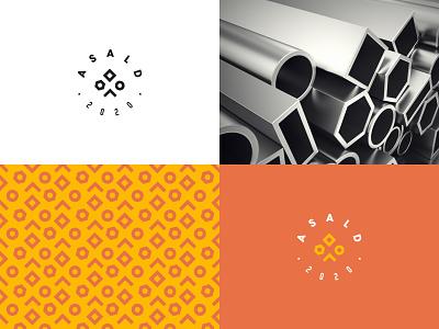 ASALD Logo design minimal simple execution branding logo asald