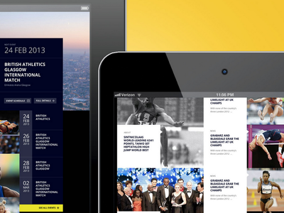 ipad, user interface, square, news, landing page, responsive
