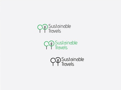 Sustainable Travels ecotourism travel agency experience nature branding brand identity logo logotype tourism travels sustainability