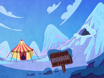 Background animation