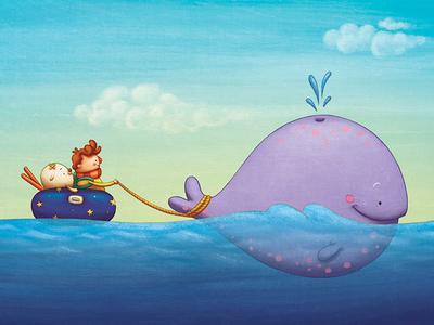 In the sea I found a friend
