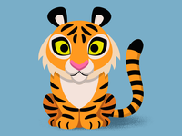 Hi! I´m a kind tiger