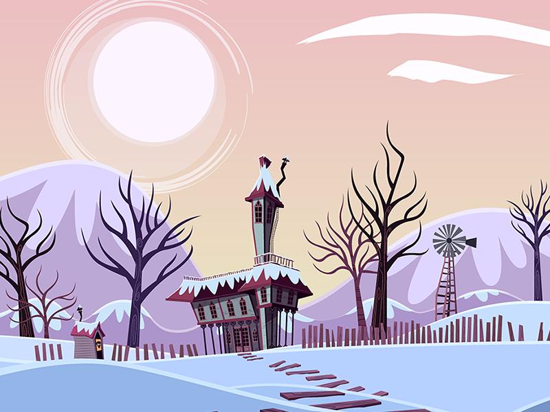 "Background for the serie ""Ciro Todorov"" dibujosanimados cartoon 2d serie fondosparaanimacion animacion animation backgrouns"
