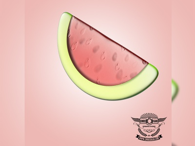 Baby Tooth Scratcher watermelon drawing cg vray 3dsmax render draw baby 3d