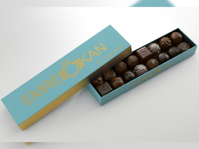 Chocolate / İyi Bayramlar render cg food draw chocolate 3d