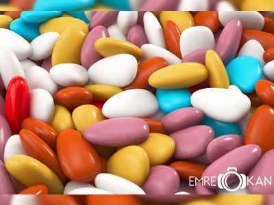 Candy / İyi Bayramlar 3dsmax 3dcandy food cg render draw candy 3d