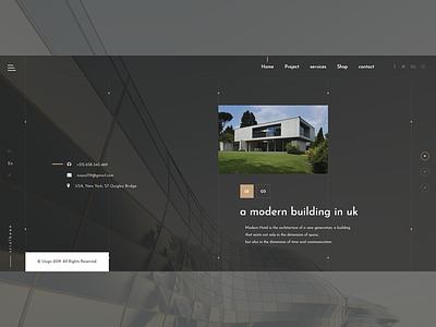 Architectural Design Websites adobe photoshop adob xd css 3 html 5