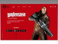 Games on sale Landing page