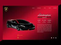Sportscar info Landing Page