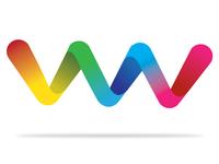 3D Multicolored Logo Concept
