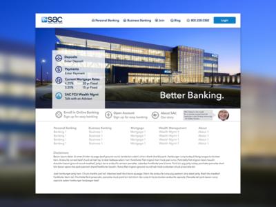 Banking Website Redesign