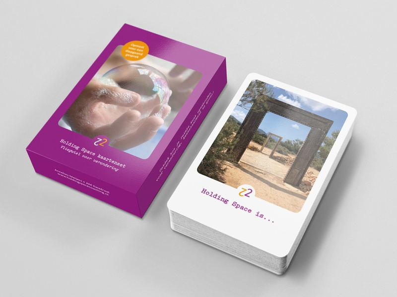 Design for coaching cards AM Kwadraat print design print tool coaching cards design graphic design