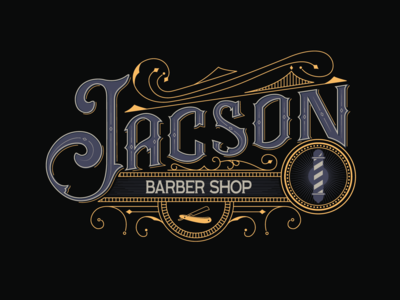 Logo - Jacson Barber Shop
